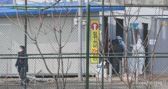[포토]순천향대학서울병원 내 입원 병동 코로나19 감염 발생