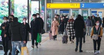 [포토]서울역 도착한 귀경객들