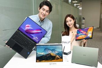 """""""360도 회전 가능"""" LG전자, 'LG 그램 360' 출시… 16인치 224만원"""