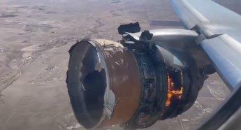 """""""죽을 수도 있겠다 생각""""…이륙 4분 만에 불붙은 美 비행기, 파편 날리며 '기적의 무사 착륙'"""