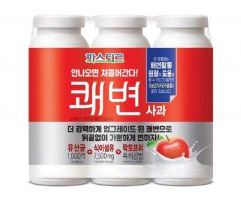 파스퇴르 '쾌변 요구르트', 발효유 최초 '기능성 표시 일반식품' 등록