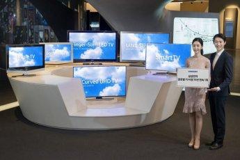 삼성전자, 15년 연속 세계 TV 시장 1위…역대 최고 점유율