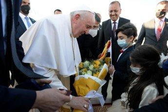 """교황, 아브라함의 고향 '우르' 방문...""""신의 이름으로 행하는 폭력은 신성모독"""""""