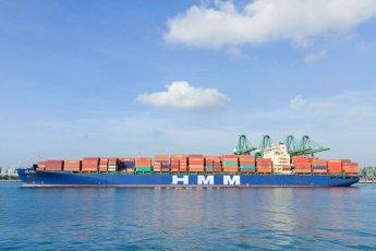 [특징주]HMM, 미국 운항선박 증편 소식에 9% 강세