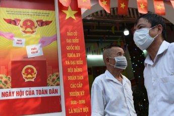 베트남 호찌민시, 코로나 19 여파로 택시·버스 운행 중단