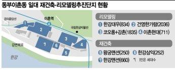 동부이촌동 정비사업 활기…이제는 '新부촌'