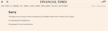 NYT·CNN·아마존 등 홈페이지 접속 중단‥클라우드 서비스 장애 탓(상보)