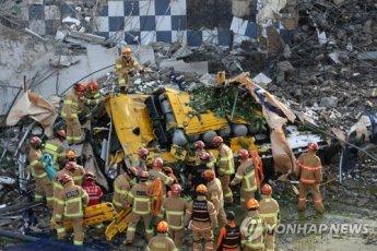광주 학동 재개발 철거 중 참사…버스 덮쳐 9명 사망·8명 중상(종합)