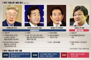 보편 vs 선별 뜨거운 '한국형 기본소득'…내년 대선판 달군다