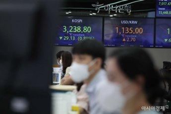 기관·외국인 동반매도…코스피 1%대 하락