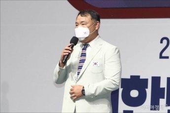 [포토]각오 밝히는 금호연 유도대표팀 감독
