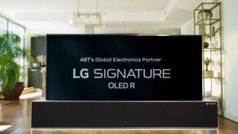 美유명 발레단 갈라쇼에 등장한 LG 롤러블 TV