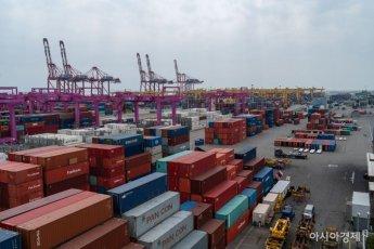 7월 수출 554.4억 달러…65년 韓 무역역사상 1위