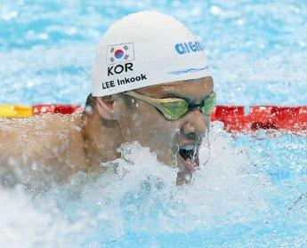 패럴림픽 '수영' 이인국, 배영 100m 결선 5위로 마무리