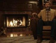 크리스마스 분위기, '넷플릭스 벽난로' 앞에서 살려볼까