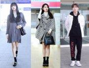패션위크 가는 길..리사·아이유·황민현·로운, K팝 ★ 공항패션은?