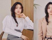 김태리의 슈트+트렌치코트, 프론트로우 '클래시 코튼 컬렉션'