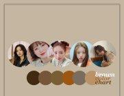 제니부터 수지까지, 브라운 염색 컬러차트!
