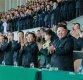 北 리설주, 올해 첫 공개석상에 모습…김정은과 축구 관람
