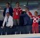 남다른 패션센스·열정적인 응원…크로아티아 대통령 '화제 등극'