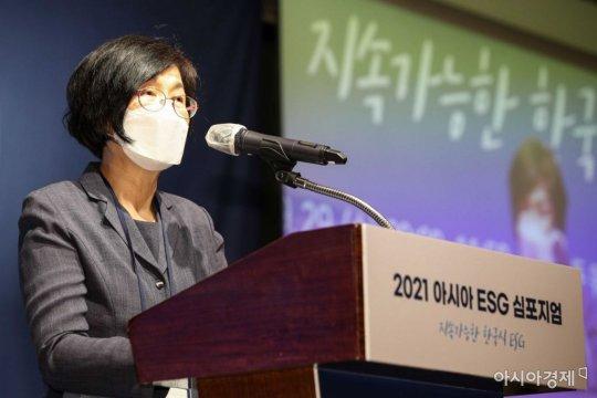 """이정미 """"헌법 정신 맞닿은 ESG경영, 기준 논의 필요"""""""