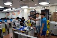 로봇산업진흥원, 대학원생 33명 '단기 로봇 교육 프로그램' 진행