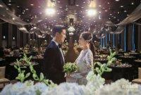 강남♥이상화, 눈부신 결혼식 사진