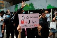 """홍콩경찰, 주말 시위 불허…""""폭력성 우려"""""""