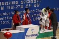 [포토]동메달 받는 이예림