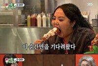 '미우새' 홍진영 언니 홍선영, 치팅데이 '곱창떡볶이' 먹방…'침 고이네'