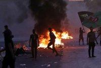 이라크 시위현장서 괴한 무차별 총격…20여명 사망