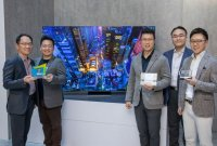 삼성전자 스크린 3총사 'CES 최고 제품상' 휩쓸어
