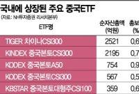 [실전재테크]中펀드 수익률 톱5 싹쓸이…올해도 투자 선봉