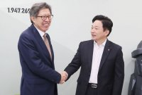 """원희룡, 보수통합 신당에 합류 결정…""""힘 보태겠다"""""""