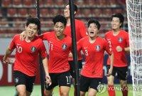 한국, 호주에 2-0 승리로 결승行…올림픽 본선 9회 연속 진출 확정