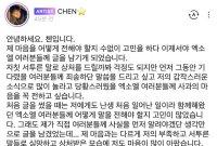 """엑소 첸, 결혼발표 37일만에 첫 심경...""""축하해야""""VS""""탈퇴해라"""" 엇갈린 반응"""