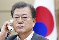 文대통령, 시진핑과 통화…韓-中 임상치료 공유·방역당국 협력키로