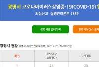 광명시 첫 코로나19 확진자 발생…명지병원 이송 (상보)