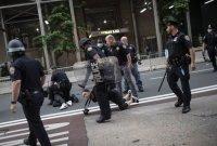 """中 관영언론, 美 폭력시위에 """"홍콩 아름다운 광경, 미국으로 확산"""""""