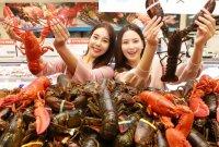 '만원의 행복'…롯데마트, '캐나다 랍스터' 최저 수준 가격에 선보인다