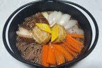 [한국의 맛] 부드러운 전복의 맛. 만들기 쉬워요.'전복찜'