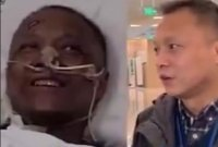 '새까맣던 피부가…헉' 코로나19 걸렸던 의사의 놀라운 근황