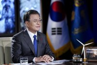 [아경 여론조사]文 대통령 지지 46.8%…민주 33.7%, 국힘 27.0%