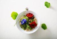 「오늘의 레시피」 꽃 비빔밥
