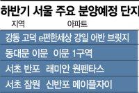 하반기 서울 아파트 청약시장 달아오른다