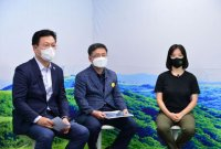 탄소세 도입·남북삼림협력 추진…與 주자들, 탄소중립 공약 발표
