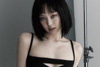 [포토] 제니 '칼단발로 뽐낸 섹시미'