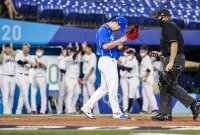 한국 야구, 일본에 2-5 패배…패자 준결승行(종합)