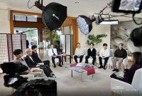 방탄소년단, 제76차 유엔총회 연설·특사 활동 마치고 귀국