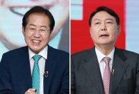 [아경 여론조사] 이재명·이낙연 앞서는 윤석열·홍준표